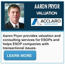 Aaron Pryor - Acclaro Valuation Advisors