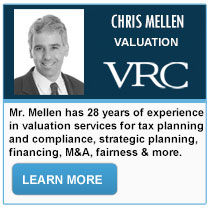 Chris Mellen - Valuation Research Corporation