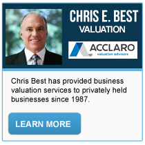 Chris E. Best - Acclaro Valuation Advisors