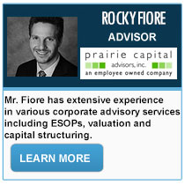 Rocky Fiore - Prairie Capital Advisors