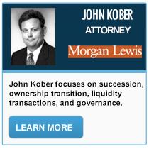 John A. Kober - Morgan Lewis & Bockius
