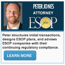 Peter Jones - ESOPPlus: Schatz Brown Glassman Kossow LLP