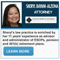 Sheryl Bayani-Alzona - Employee Benefits Law Group PC