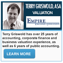 Terry Griswold - Empire Valuation Consultants, LLC