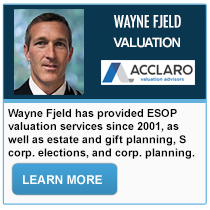 Wayne Fjeld - Acclaro Valuation Advisors
